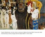 Fregio di Beethoven, tecnica mista su intonaco, dipinto di Gustav Klimt conservato nella Secessionhaus, Vienna, Imagno/Archivi Alinari IMA-F-118701-0000