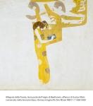 Allegoria della Poesia, terza parte del Fregio di Beethoven, affresco di Gustav Klimt  conservato nella Secessionhaus, Vienna, Imagno/Archivi Alinari IMA-F-111888-0000